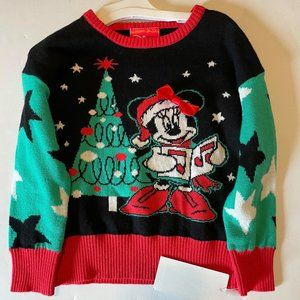 NWT- Minnie Mouse Christmas Sweater